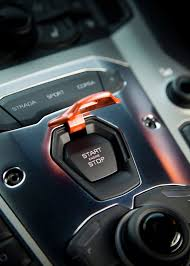 lamborghini aventador key the key to happiness in other words the ignition button of
