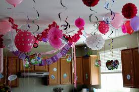 decorations for home home decor simple 1st birthday party decorations at home