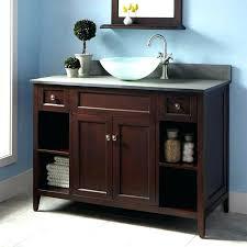Walnut Bathroom Vanity Black Bathroom Vanity With Vessel Sink Bathroom Vanity With Vessel