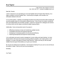 Example Of Covering Letter For Resume by Leading Professional Accounts Payable Specialist Cover Letter