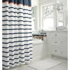 Threshold Ombre Shower Curtain Blue Stripe Shower Curtain Foter