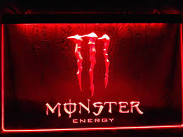 monster energy drink led sign u2013 vintagily