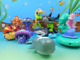 burger king u0027s shark tales 10 kids meal toys video review