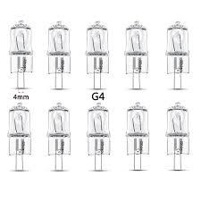 Wohnzimmerlampe Halogen 10 Stück Halogen Stiftsockellampe G4 12v 20watt