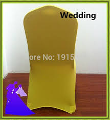 Cheap Spandex Chair Covers For Sale Aliexpress Com Buy Yellow Cheap Spandex Chair Cover Wedding For