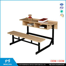 desk with attached chair china supplier high quality attached desks and chair