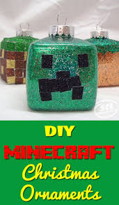 Easy Diy Christmas Ornaments Pinterest 261 Best Minecraft Crafts And Tips Images On Pinterest Minecraft