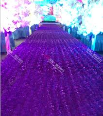 cheap aisle runners 10 meter cheap floral vip wedding props aisle carpet