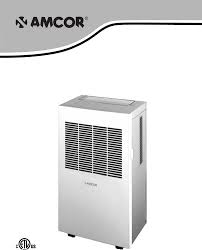 amcor air conditioner apc 2000e user guide manualsonline com