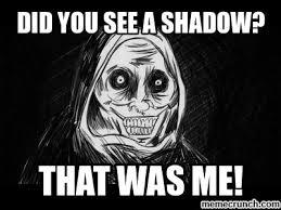 Unwanted Guest Meme - shadow