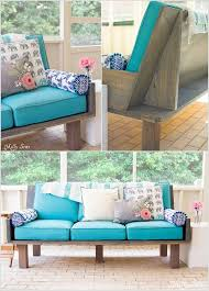 couch ideas 10 cool diy outdoor couch ideas