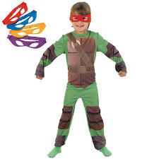 Ninja Halloween Costume Kids Kids Tmnt Fancy Dress Costume Mask Kids Teenage Mutant