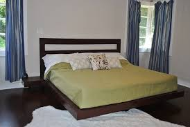 Platform Bed Building Designs by Easy To Build Diy Platform Bed Designs