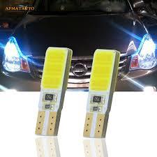 trail of lights parking 2x t10 w5w led side parking lights marker ls bulb for nissan