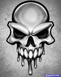 learn how to draw a skull skull skulls pop