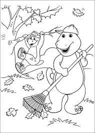 barney friends coloring pages picture 20 printable coloring