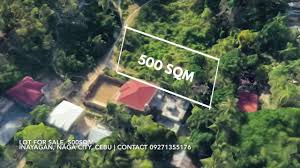 500 Sqm 500sqm Lot For Sale In Inayagan Naga City Cebu Youtube