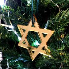 star of david christmas tree decoration pack of ten servewell