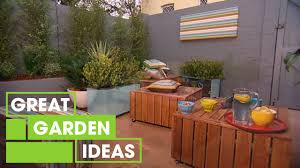 how to make a moveable garden gardening great home ideas youtube