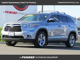 suv toyota 2015 2015 used toyota highlander limited at capitol expressway used car