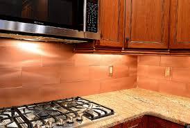 Copper Backsplash Tiles For Kitchen Backsplash Ideas Interesting Copper Tile Backsplash Copper