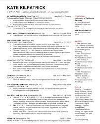 Best Journalist Resume by Kate Kilpatrick Resume