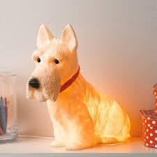 scottie dog lamp kitsch dog lamp scottie dog night light