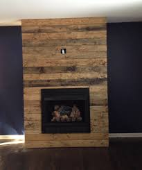 nice fireplace surround feature wall made with reclaime grey