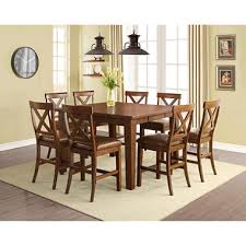 9pc dining room set kayden 9 piece counter height dining set home decor pinterest