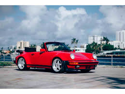 red porsche 911 classic porsche 930 for sale on classiccars com