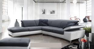 canapé d angle bi couleur canape microfibre angle maison design wiblia com