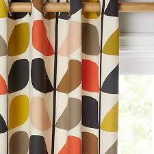 John Lewis Curtains Childrens Buy Orla Kiely Multi Stem Lined Eyelet Curtains John Lewis