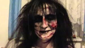 Exorcist Halloween Costume Extra Footage Exorcist Demon Spider Walk Prank
