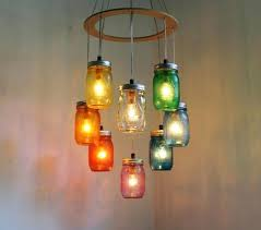 Jar Pendant Light How To Make A Mason Jar Pendant Light Fascinating Chandelier Mason