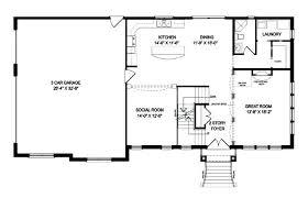one level open floor plans one level open floor plans house split leveling old hardwood floors