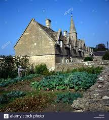 scarecrow and cottage vegetable garden marshfield wiltshire