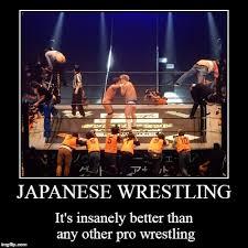 Pro Wrestling Memes - danshoku dino versus joey ryan and some organic post padding