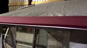 Bradcot Awning Spares Bradcot Portico Porch Awning Youtube