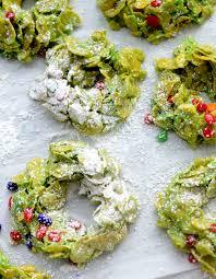 christmas cornflake wreaths u2013 recipe diaries
