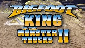 bigfoot monster truck videos youtube king of the monster truck ii dvd teaser now available bigfoot
