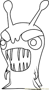 jollyfist coloring free slugterra coloring pages