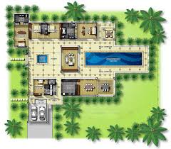 pool and garden house plans home array