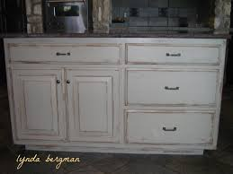 Distressed Kitchen Cabinets Distressed Kitchen Cabinets Casual Cottage Lynda Bergman