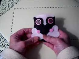 felt owl pincushions or ornaments an easy inexpensive craft