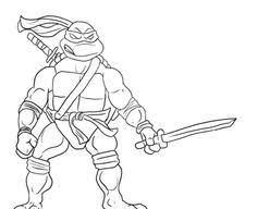 leonardo ninja kick coloring jpg 600 840 sweet treats