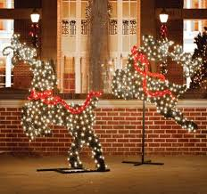 northlight commercial grade led lighted leaping reindeer
