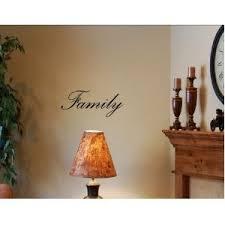 amazon com family vinyl wall art quotes and sayings home decor