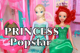 play doh frozen barbie princess popstar travel doll house dream