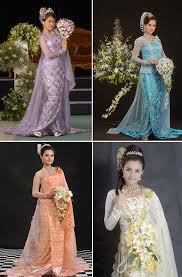 myanmar traditional wedding dresses all things myanmar burmese