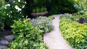 garden border ideas sunset